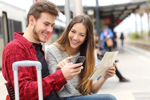 El uso de aplicaciones permite conocer en qué puntos se ha conectado el viajero y qué lugares le interesan más. #shu#