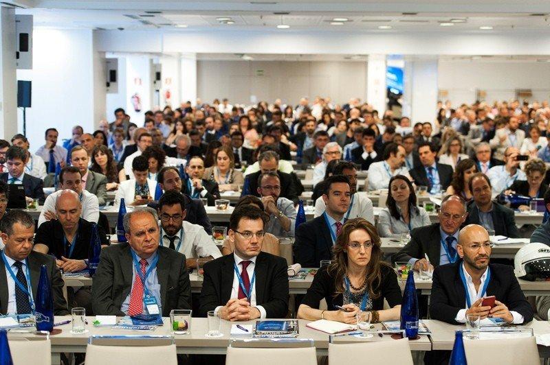 El público llenó la sala de convenciones del hotel NH Eurobuilding, Madrid, donde se celebró el Foro Hosteltur.