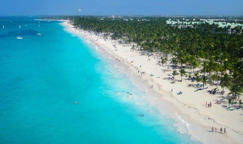 Las playas caribeñas son el principal atractivo de la República Dominicana. #shu#
