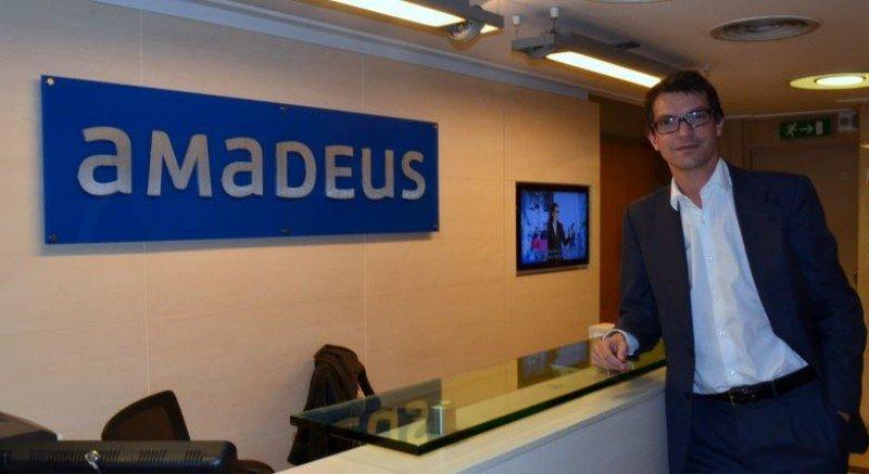 Iñigo García Aranda, Regional General Manager de Amadeus para siete países de Sudamérica.