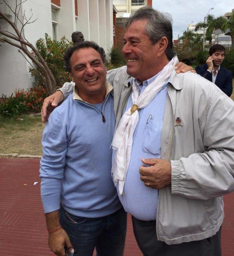 Andrés Jafif y Enrique Antía, elegidos alcalde de Punta del Este e intendente de Maldonado, respectivamente.