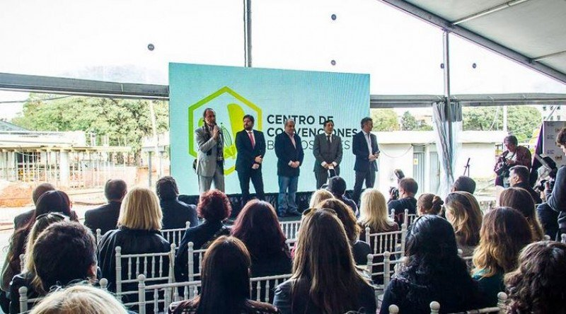 El Ente de Turismo presentó el Plan de Posicionamiento Internacional del centro de convenciones.
