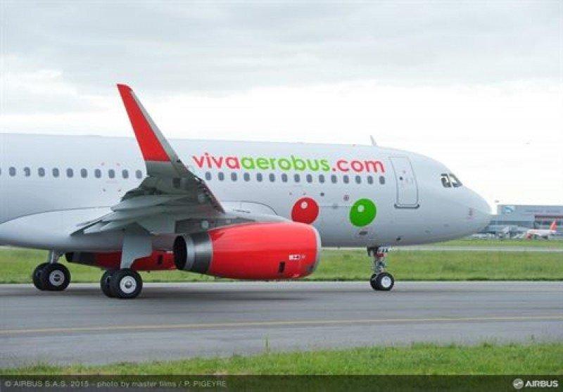 VivaAerobus recibe el primero de sus 52 aviones A320