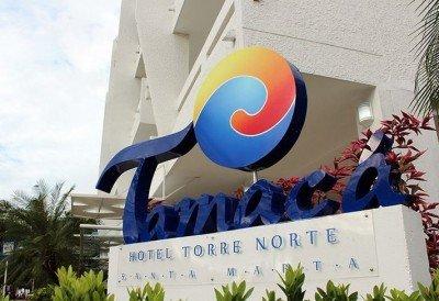 El hotel Sercotel Tamacá Torre Norte forma parte del complejo Tacamá Beach Resort.