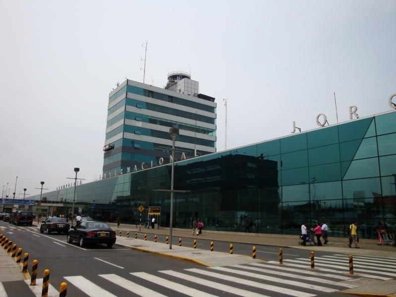 Aeropuerto Jorge Chávez, de Lima.