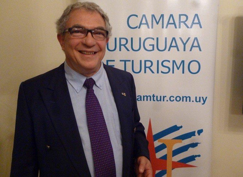 Luis Borsari renunciará a la presidencia de la Cámara Uruguaya de Turismo en su cuarto período al frente de la gremial.