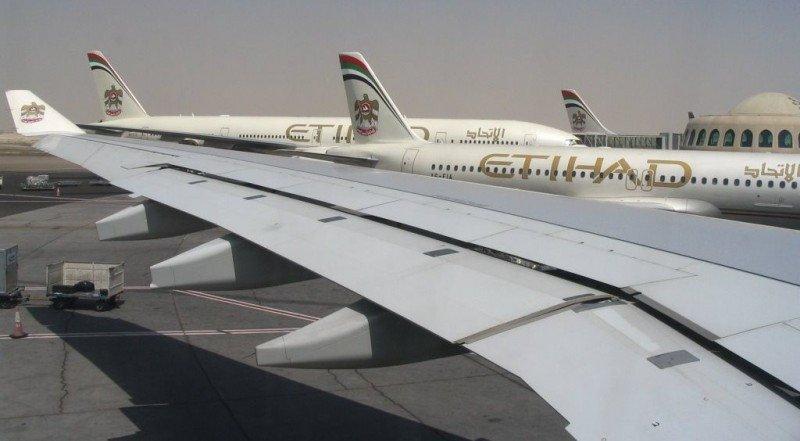 Hub de Etihad en Abu Dhabi