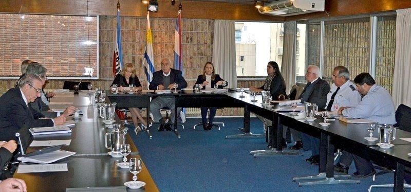 Primera reunión de la Junta Aeronáutica Civil de Uruguay en la actual administración.
