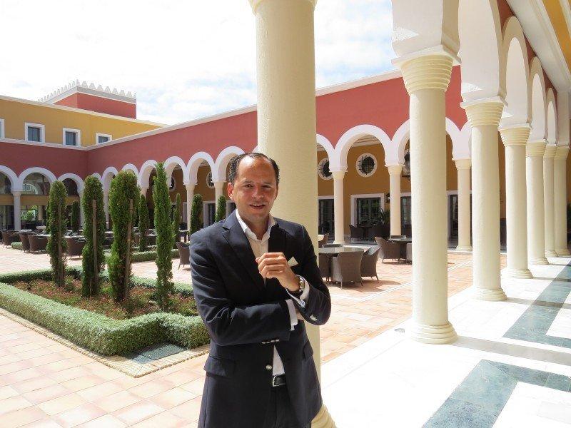 Alberto Lalinde, nuevo director del hotel Meliá Sancti Petri