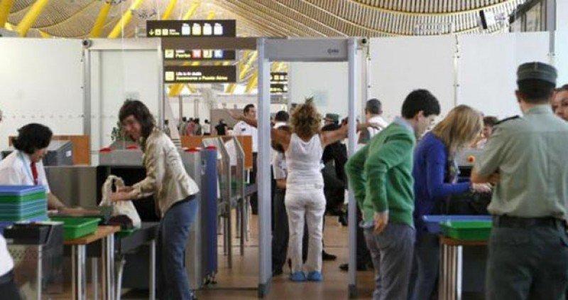 Madrid-Barajas hará preinspecciones de salida a los pasajeros que viajan a EEUU