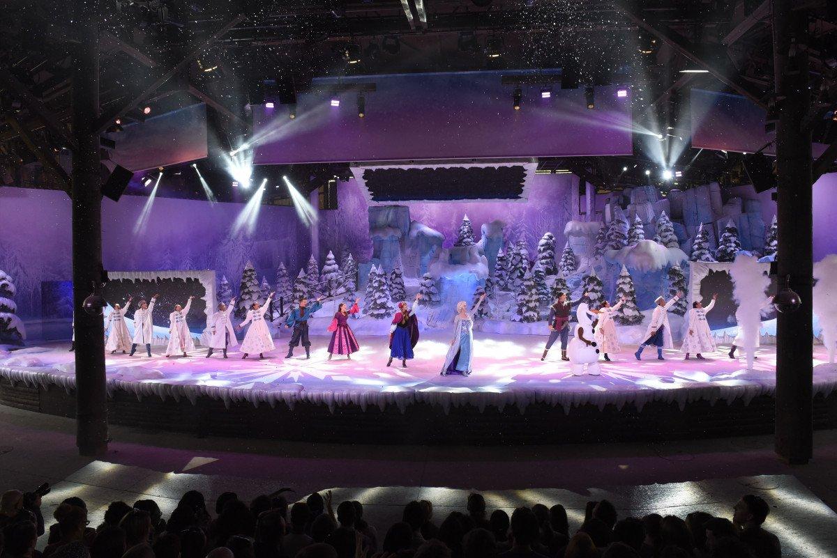 Frozen Sing-Along, el nuevo espectáculo de Disneyland París.