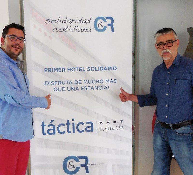 De izq. a dcha, Jesús Rodríguez y Ximo Sola.
