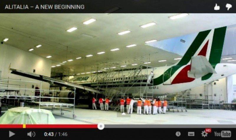 Alitalia, el nuevo despegue (vídeo)