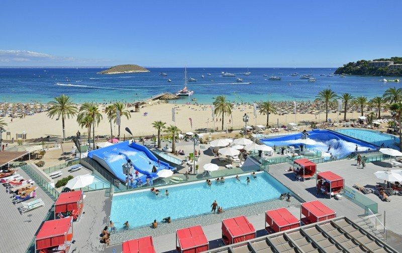 Meliá suma en el Calviá Beach cinco nuevos hoteles renovados