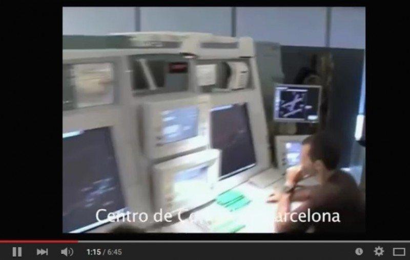 Centro de Control Aéreo de Barcelona, donde fueron sancionados 61 controladores.