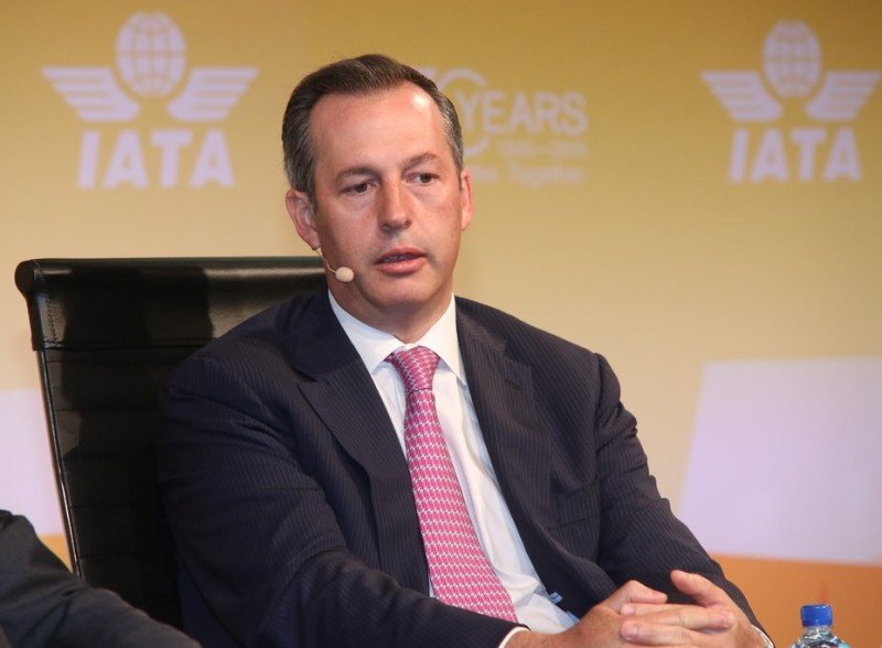 El CEO de Aeroméxico, Andrés Conesa, primer mexicano que desempeña la presidencia del Consejo de Gobernadores de la IATA (Foto: IATA).