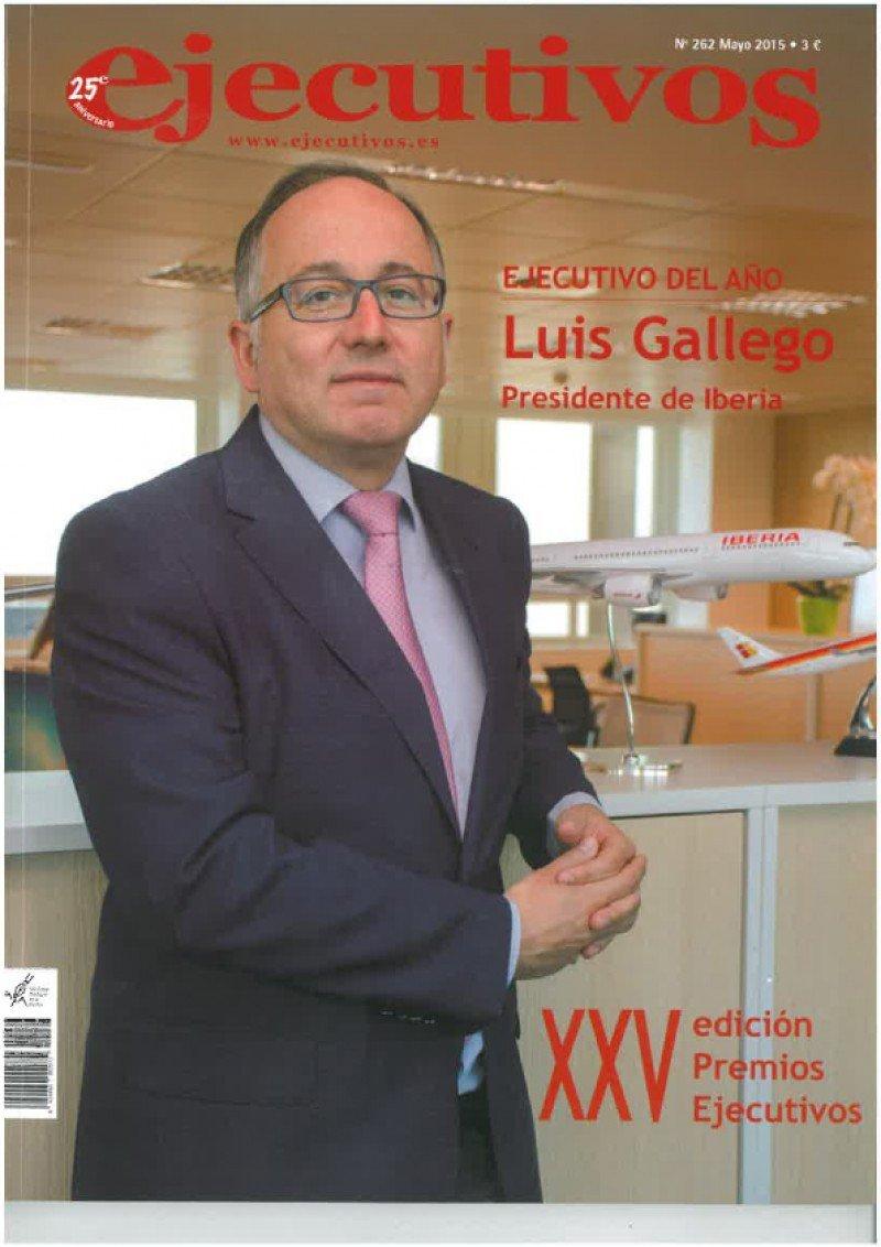 El presidente de Iberia, Luis Gallego, es elegido ejecutivo del año