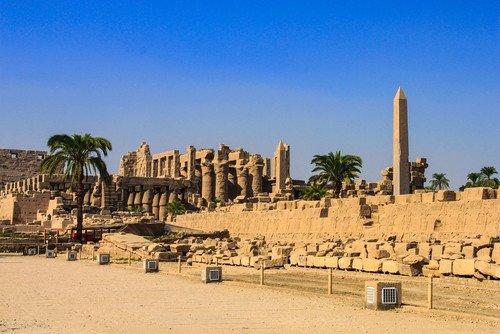 Ayer se registró un atentado en el aparcamiento del templo de Karnak. #shu#