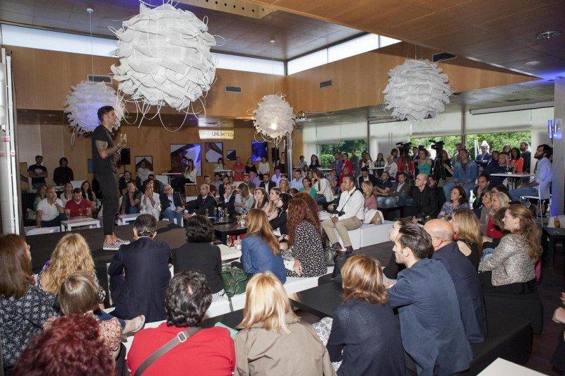 La presentación de Ayre Unlimited congregó a un gran número de público, sobre todo directivos de empresas.
