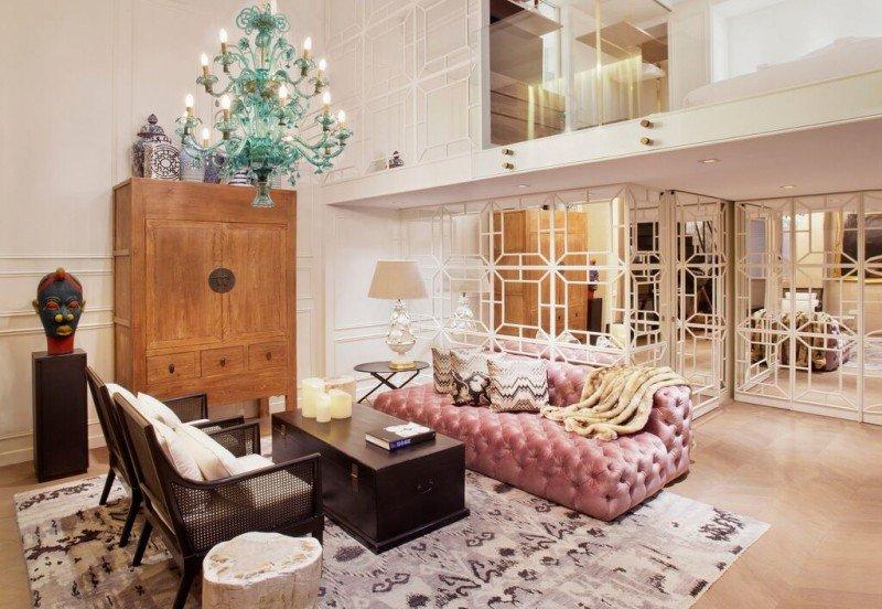 Suite Duplex del Hotel Claris.