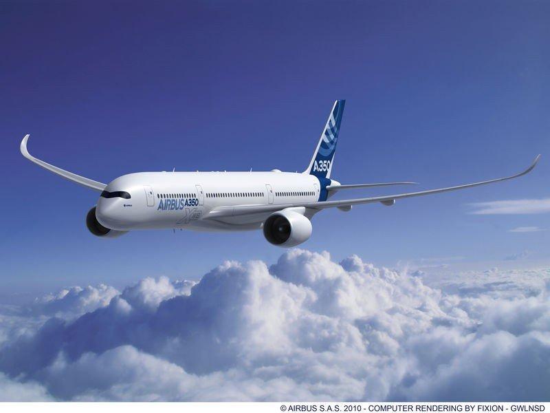 El A350 XWB, actualmente el avión más moderno del mundo, se ha convertido en una de las estrellas del Paris Air Show.