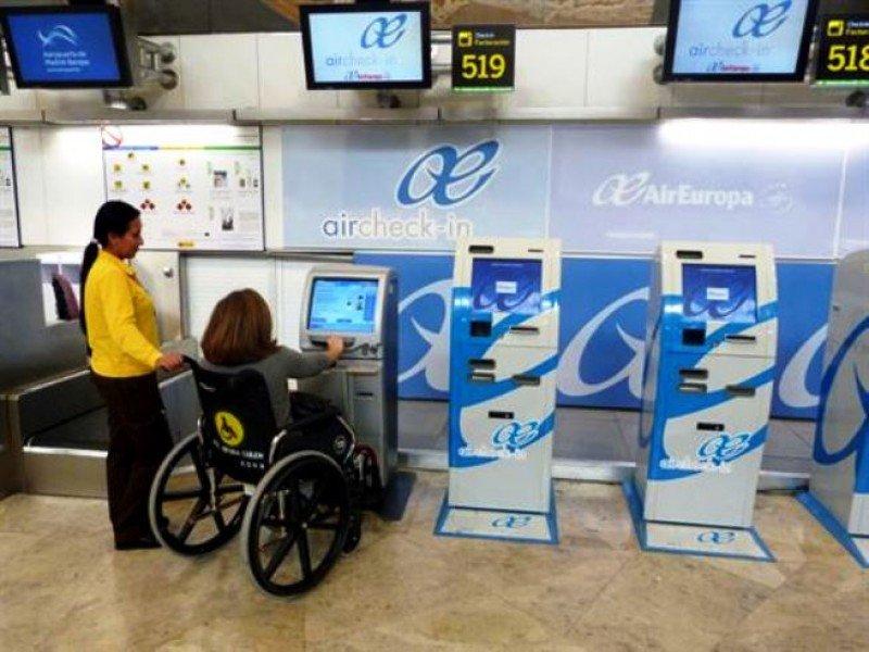 Los pasajeros con movilidad reducida no pagarán por reservar asistencia