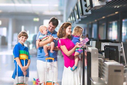 La estancia de los turistas extranjeros que viajan en familia supera los nueve días. #shu#
