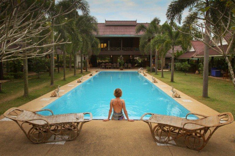 Un hotel spa de lujo en Thailandia. #shu#