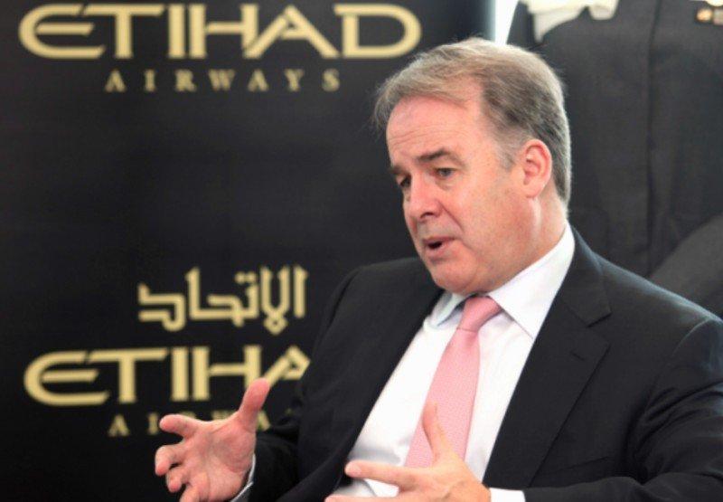 James Hogan, presidente y CEO de Etihad Airways.