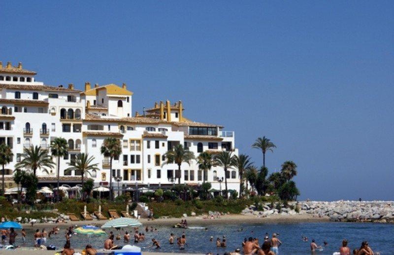 Una playa de Marbella. #shu#