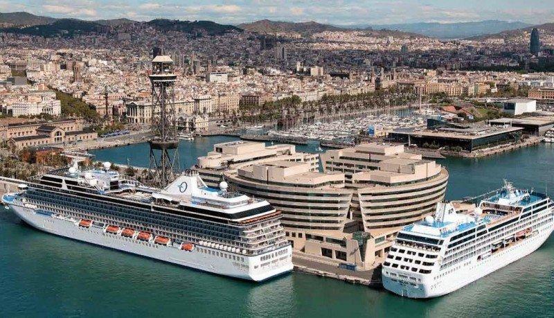 Barcelona registra un 6% de incremento de cruceristas hasta mayo