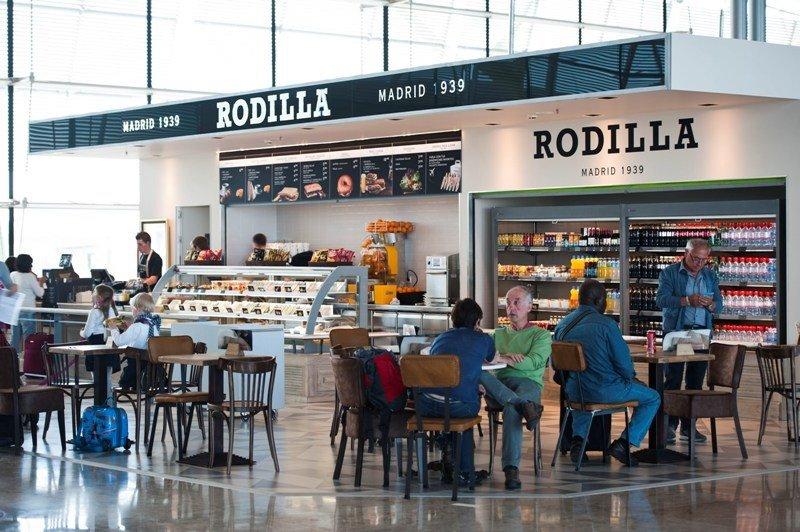 Establecimiento de Rodilla en un aeropuerto.