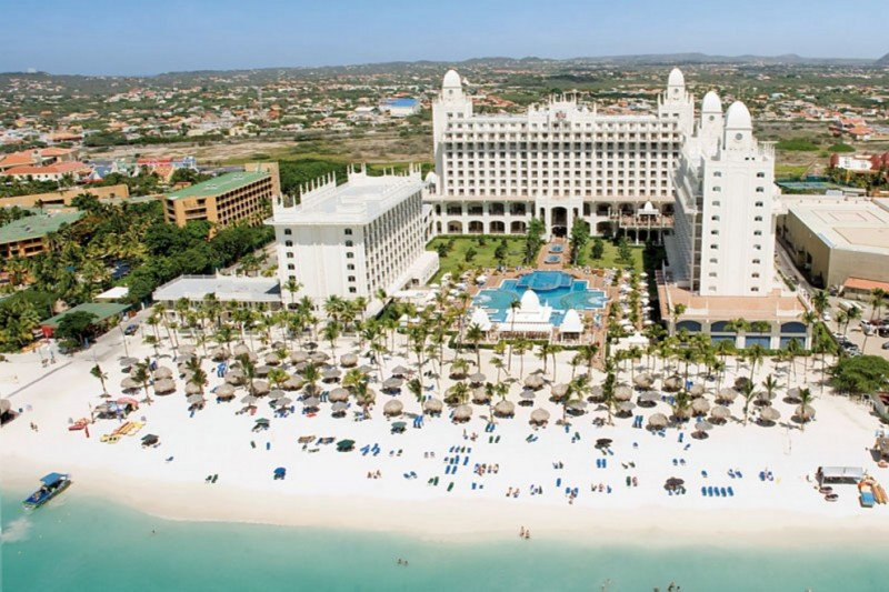 El Riu Palace Aruba es considerado el mejor hotel del país por los usuarios de Zoover.