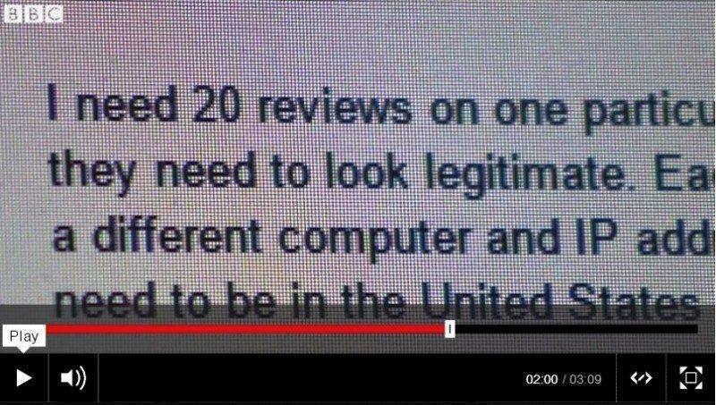 comentarios falsos online investigación en UK