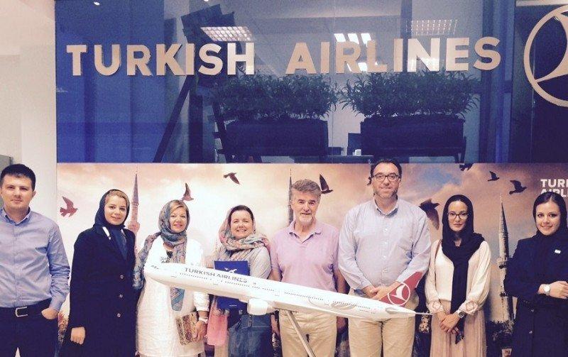 La delegación de la Costa del Sol que promocionó el destino en Irán.