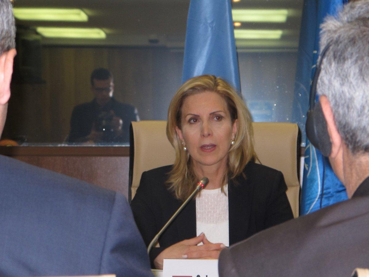 La ministra de Turismo de Túnez, Salma Ellumi.