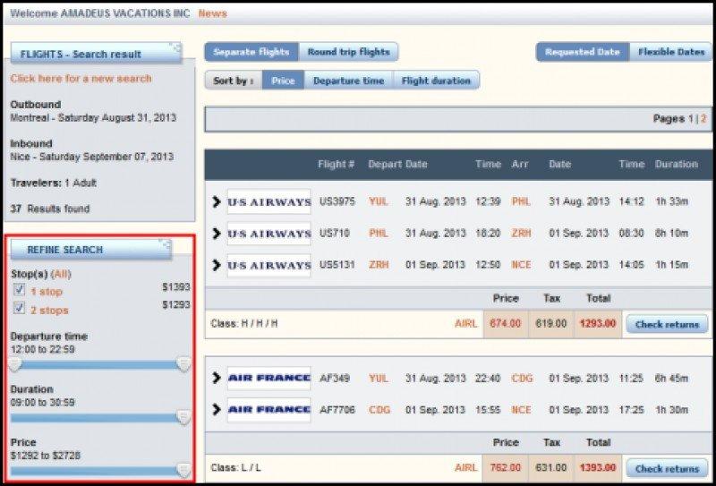 Amadeus, uno de los principales afectados por la medida anunciada por Lufthansa.