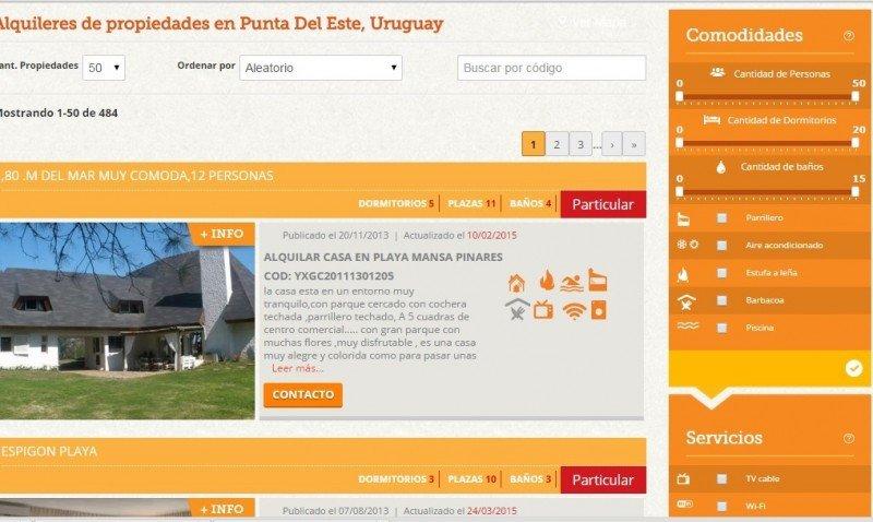 Alquileres: Perfil del turista en el Este de Uruguay en baja temporada
