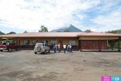 Construyen terminal portuaria en turística Isla de Ometepe. (Foto: El 19 digital).