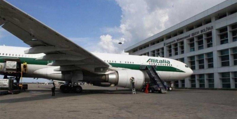 La aerolínea de bandera italiana no volverá a volar a Venezuela hasta nuevo aviso.