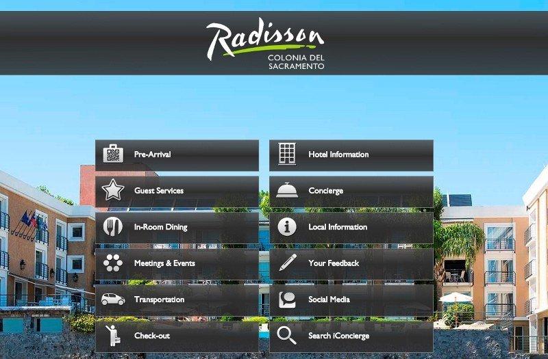 Hotel Radisson Colonia del Sacramento presenta nueva app