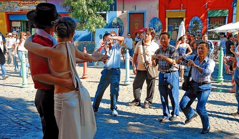En 2014 más de 30.400 chinos visitaron Argentina.
