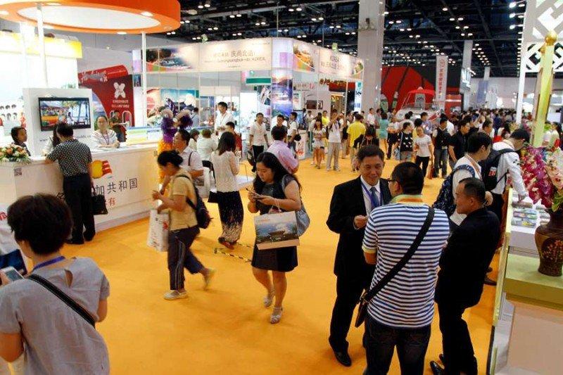 Feria Internacional de Turismo de Pekín.