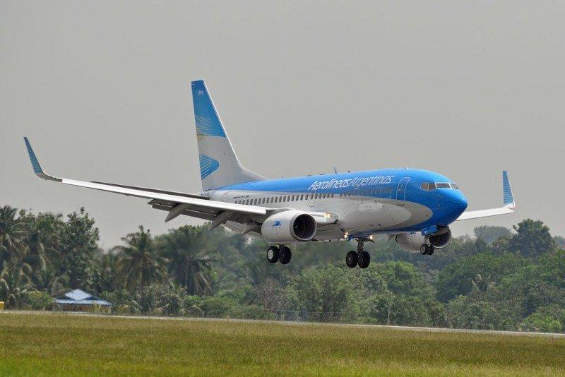 Aerolíneas Argentinas tendrá dos vuelos diarios entre Buenos Aires y San Luis