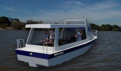 Las embarcaciones harán recorridos en Bella Unión, Salto y Nuevo Berlín. Foto: Mintur