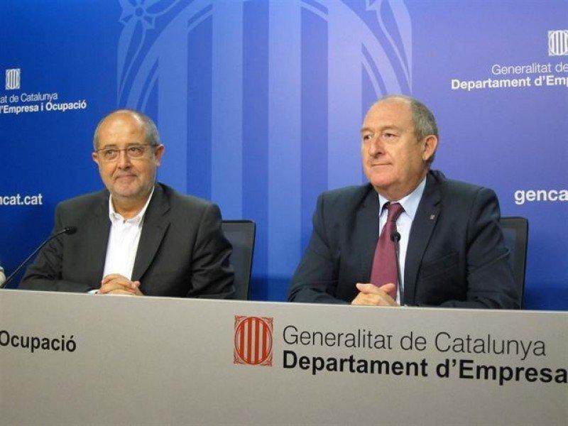 Felip Puig, conseller de Empresa, en su comparecencia para valorar los datos del paro hasta junio, ha calificado de 'error' la decisión del Ayuntamiento de Barcelona.