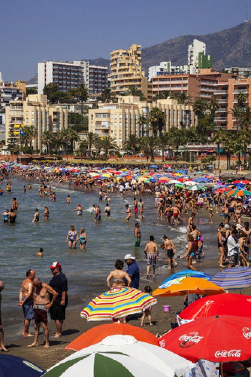 Playa de Benalmádena. #shu#