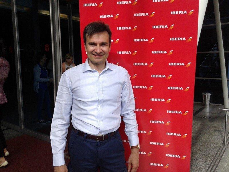 Marco Sansavini, director comercial de Iberia, se refirió a los planes futuros de las compañía.