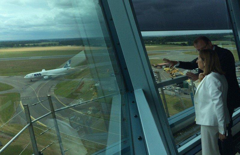 Londres-Luton, el quinto aeropuerto con más tráfico de la red de Aena