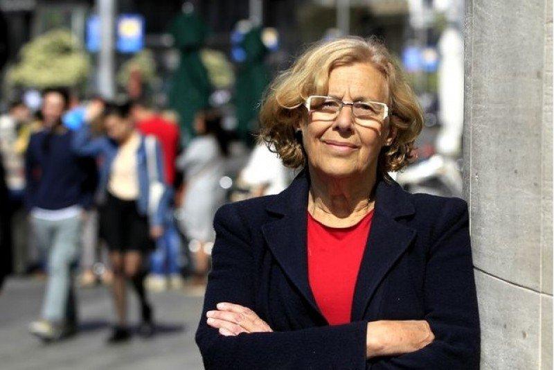 """Manuela Carmena reconoce que el error reside en """"no vender bien Madrid'. (Imagen de archivo)."""